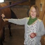 Hobusega ratsutamas