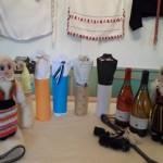 Marja-puuvilja veinid- rabarber/mustikas 2012, pihlakas 2012, aroonia/ebaküdoonia 2012, rabarber 2013, aroonia 2011