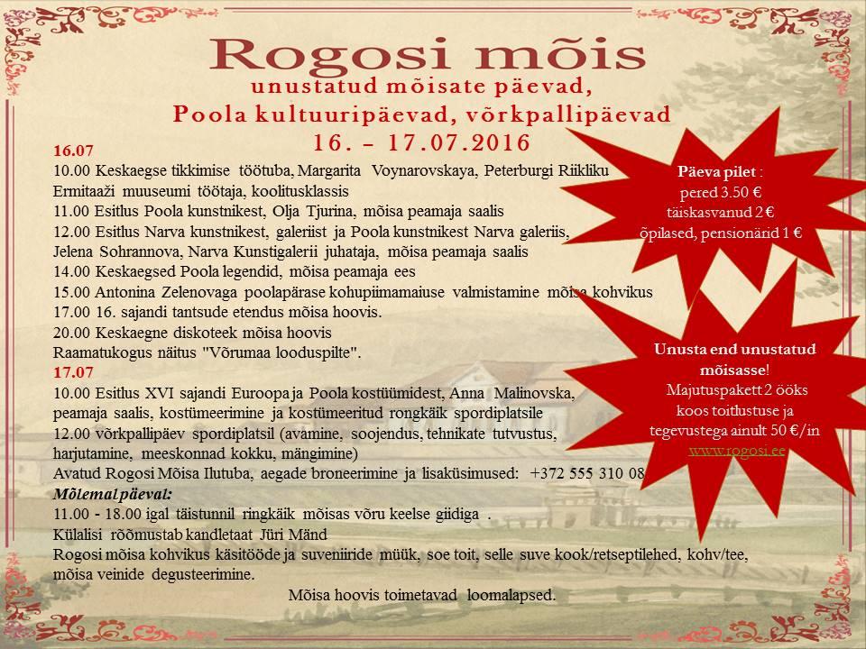Poola kultuuripäevad, poster