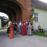 Poola kultuuripäevad Rogosi mõisas, Poola pan oma saatjaskonnaga ootab külalisi 1
