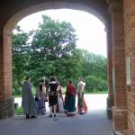 Poola kultuuripäevad Rogosi mõisas, Poola pan oma saatjaskonnaga ootab külalisi