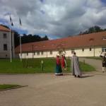 Poola kultuuripäevad Rogosi mõisas, kostümeeritud kutse