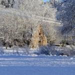 Rogosi mõisa vana karjalaut, jaanuar 2014