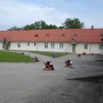 Gaujena muusika-ja kunstikooli lapsed maalilaagris Rogosi mõisas